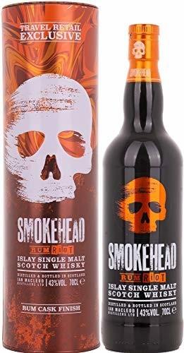 Smokehead Rum Riot Islay Single Malt Scotch Whisky 43% 0,7l in Tinbox