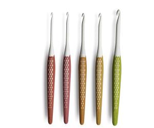 mehrfarbig Prym 223707 H/äkelnadelspitze NATURAL 6,5 mm Tunesische H/äkelnadel Holz