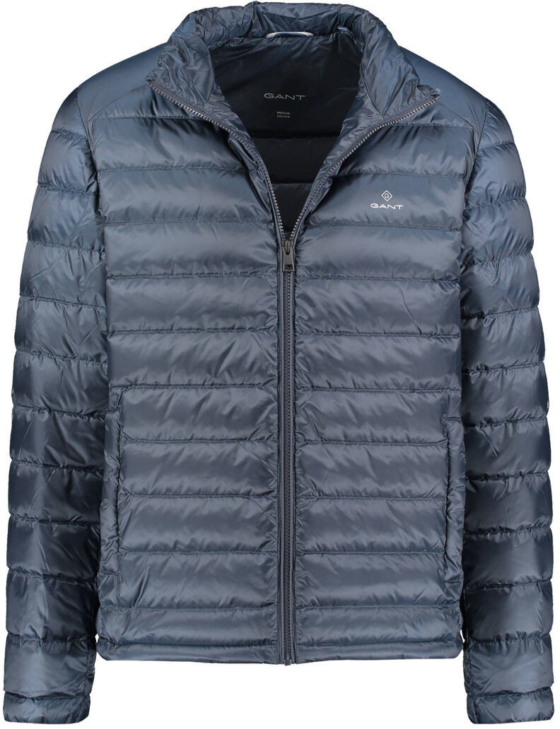 LOGICA Daunenjacke Herren Gepolstert Nylon Blau 160GR//Qm Jacke Multi Taschen