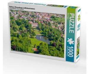 Calvendo Schloss Wiesenburg (Luftbildaufnahme) 1000 Teile [4059478718685]