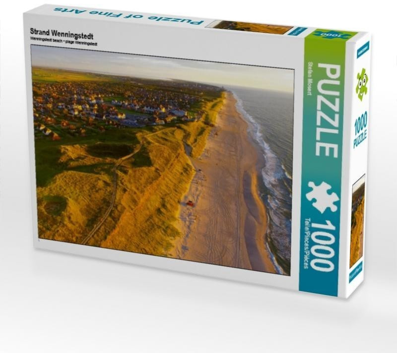 Calvendo Strand Wenningstedt 1000 Teile Foto-Puzzle [4056502506041]