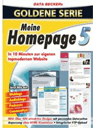 Data Becker Meine Homepage 5 (DE) (Win)