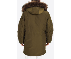 Hollister California Parka XM19 Elevated Military 1CC olive