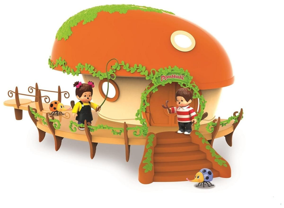 Ouaps Monchichi House Playset