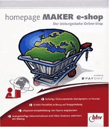 bhv Homepage Maker e-shop (DE) (Win)