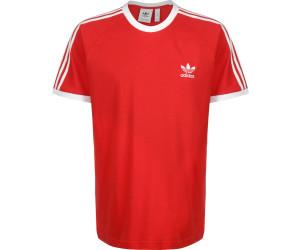 Adidas Originals T Shirt Herren 3 STRIPES TEE FM3770 Rot, Größe:XL