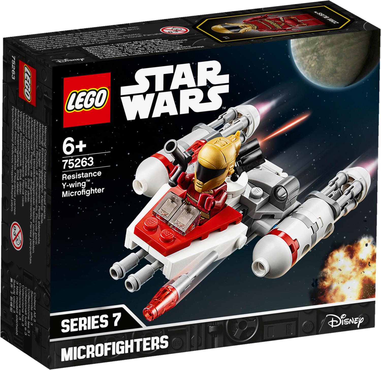 LEGO Star Wars - Microfighter Y-Wing de la Résistance (75263)