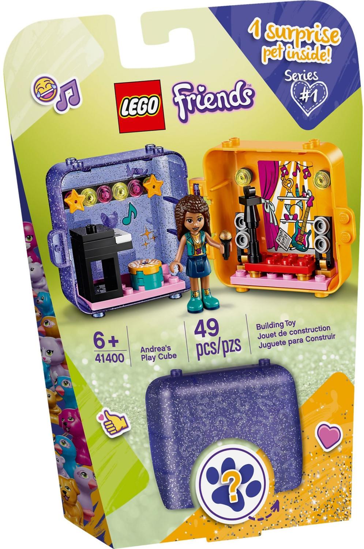 LEGO Friends - Le cube de jeu d'Andréa (41400)