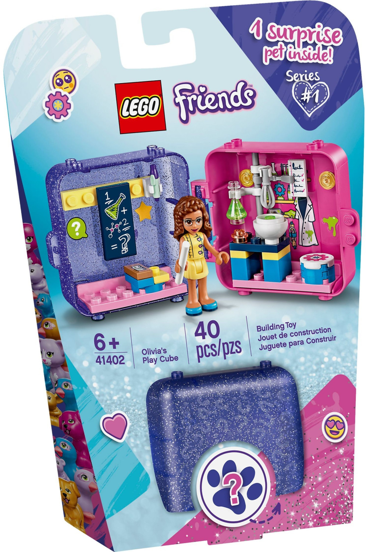 LEGO Friends - Le cube de jeu d'Olivia (41402)