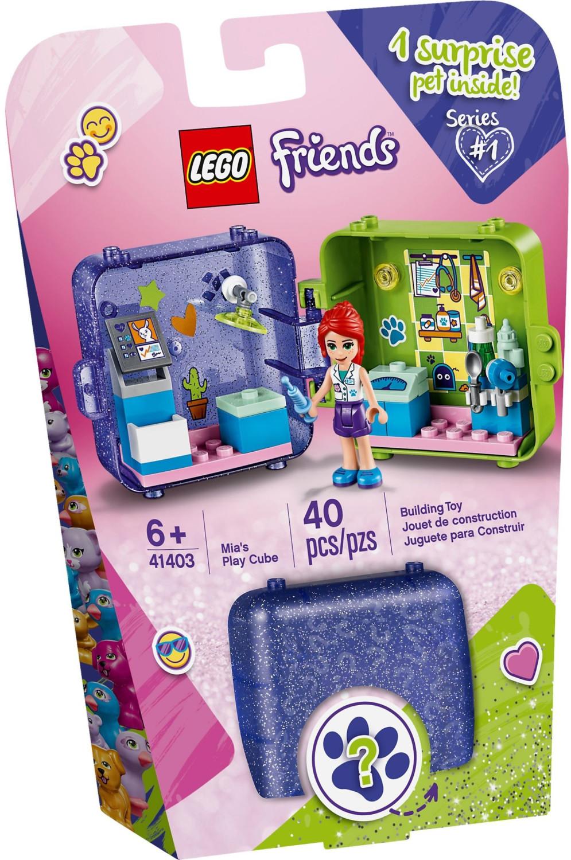LEGO Friends - Le cube de jeu de Mia (41403)