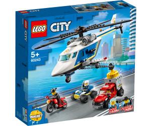 LEGO City Verfolgungsjagd mit dem Polizeihubschrauber