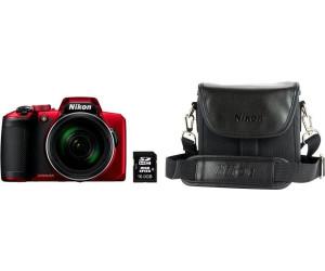 Nikon Coolpix B600 +  16GB SD + CS-P08 Tasche rot