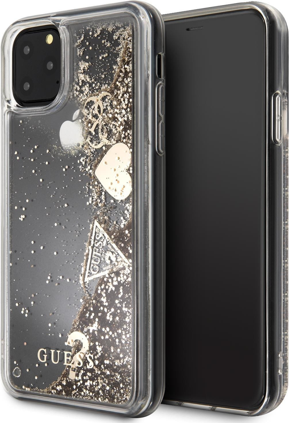 Image of Guess Cover Glitter Hearts (iPhone 11 Pro)