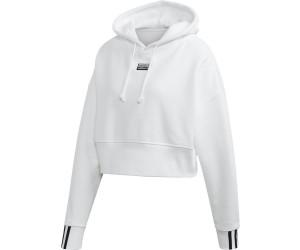 adidas Cropped Hoodie Weiß | adidas Deutschland