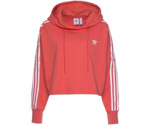 Adidas Women's Originals Cropped Hoodie trace scralet