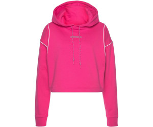 Adidas Women's Originals Cropped Hoodie real magenta (GC8788