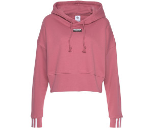 Adidas Women's Originals Cropped Hoodie trace maroon (EJ8539