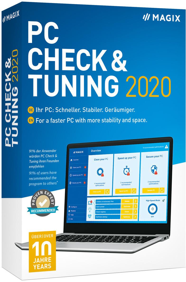 Image of Magix PC Check & Tuning 2020