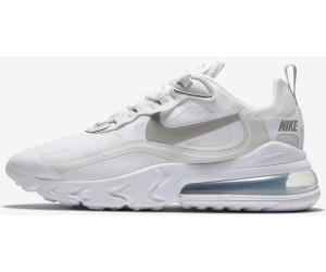 Nike Air Max 270 React white/pure platinum/cool grey/light ...