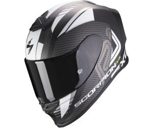 Scorpion Motorradhelm EXO-1400 AIR Galaxy Matt Neon Red Schwarz//Rot S