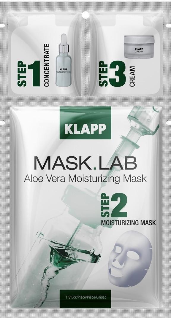 Klapp Aloe Vera Moisturizing Mask