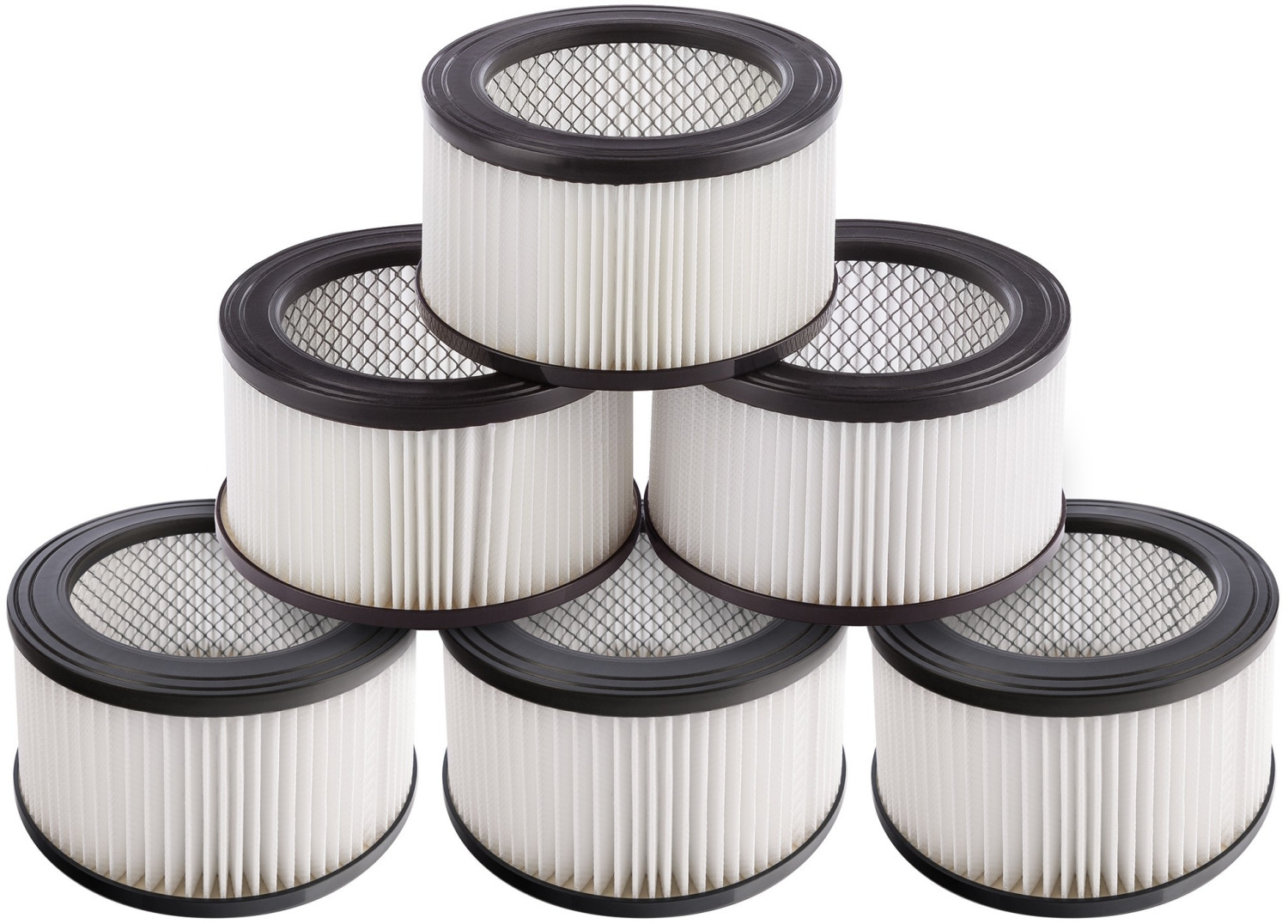 Image of Arebos 6 x Hepa filters for ash vacuums