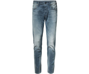 G Star Raw Denim 3301 Slim Loomer Grey Stretch Denim Herren Jeans