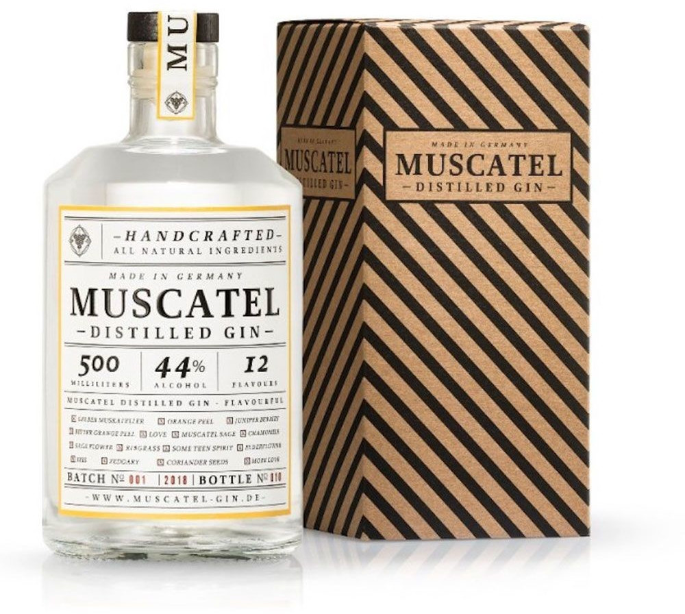 Muscatel Gin Distilled Gin 0,5l 44%