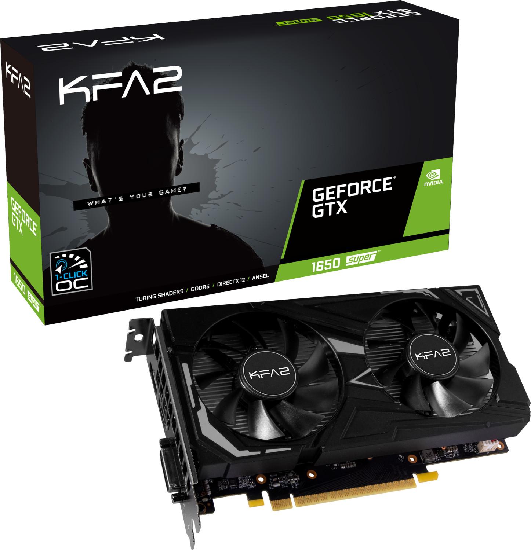 Image of Galaxy GeForce GTX 1650 Super EX (1-Click OC) 4GB GDDR6