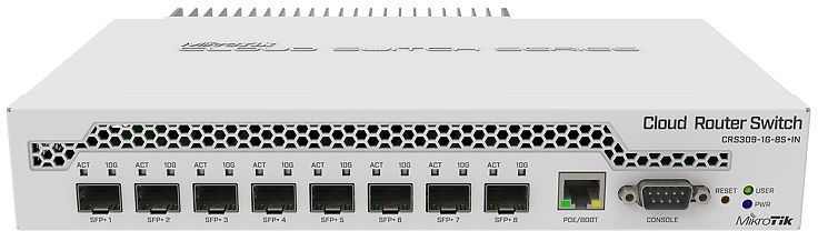 Image of MikroTik CRS309-1G-8S+IN