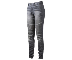 John Doe Betty Biker XTM Jeans grau