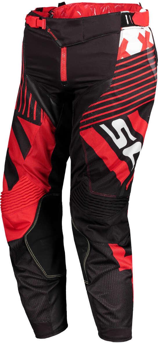 Image of Scott 450 Patchwork Pants black/red