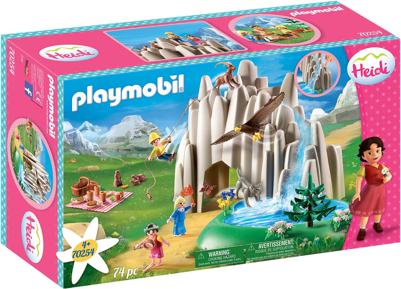 Playmobil Am Kristallsee mit Heidi, Peter und Clara (70254)