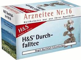 H&S Durchfalltee Nr. 16 (20 Stk.)