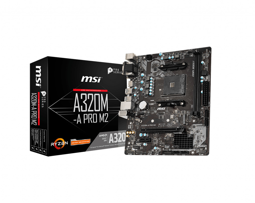 Image of MSI A320M-A Pro M.2