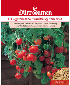Dürr-Sa­men Hängetomaten Tumbling Tom Red