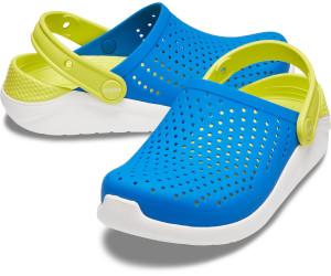 Crocs Literide Kids Child Soft Clog bright cobaltcitrus