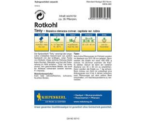 Kiepenkerl Profi-Line Rotkohl Tinty ca. 35 Pflanzen