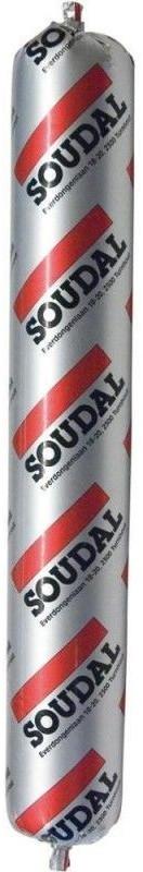 Soudal Silirub 2 grau - 12 x 600 ml
