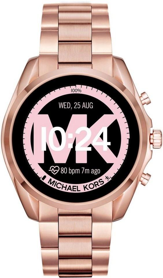 Image of Michael Kors Access Bradshaw 2 Rose Gold