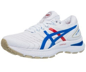 Asics Gel-Nimbus 22 W white/electric blue ab 118,29 ...