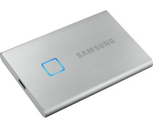 Samsung Portable SSD T7 Touch 1TB silber