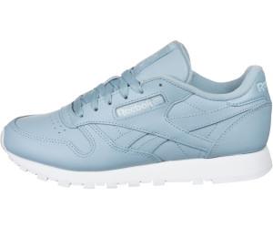 bästa pris presenter löparskor Buy Reebok Classic Leather Women fluid blue/white/glass blue from ...