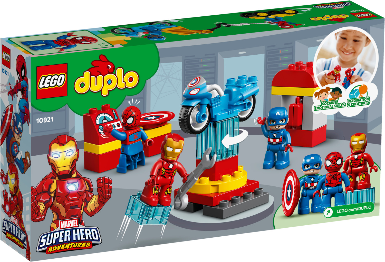 LEGO Duplo - Marvel Super Hero Adventures - Le labo des super-héros (10921)