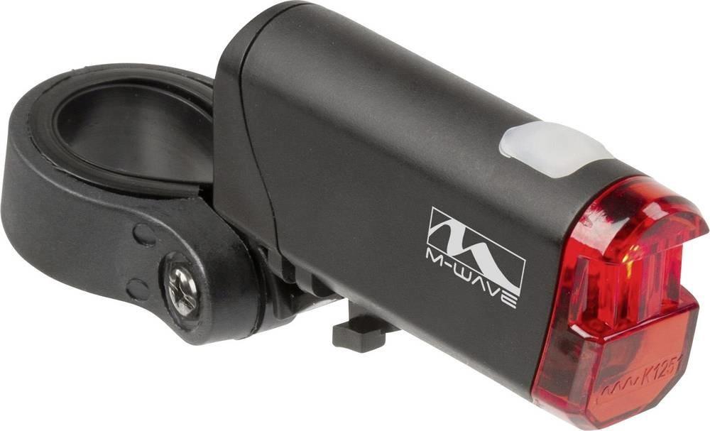 M-Wave Fahrrad-Rücklicht Helios K 1.1 Led (black)