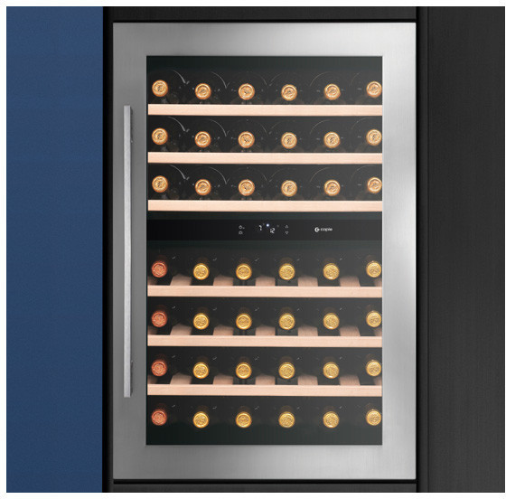 Image of Caple WC6510 Classic In-Column Dual Zone Wine Cabinet