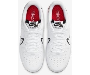 Nike Air Force 1 React white/university red/black a € 219,00 (oggi ...
