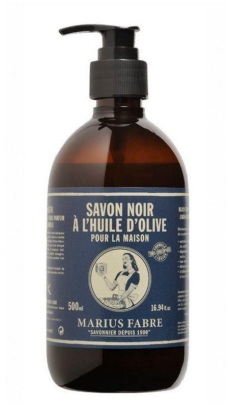 Marius Fabre Schwarze Olivenölseife Flüssigseife (Savon Noir) (500ml)