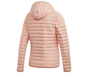 Adidas Women Lifestyle Varilite Soft Hooded Jacket glow pink