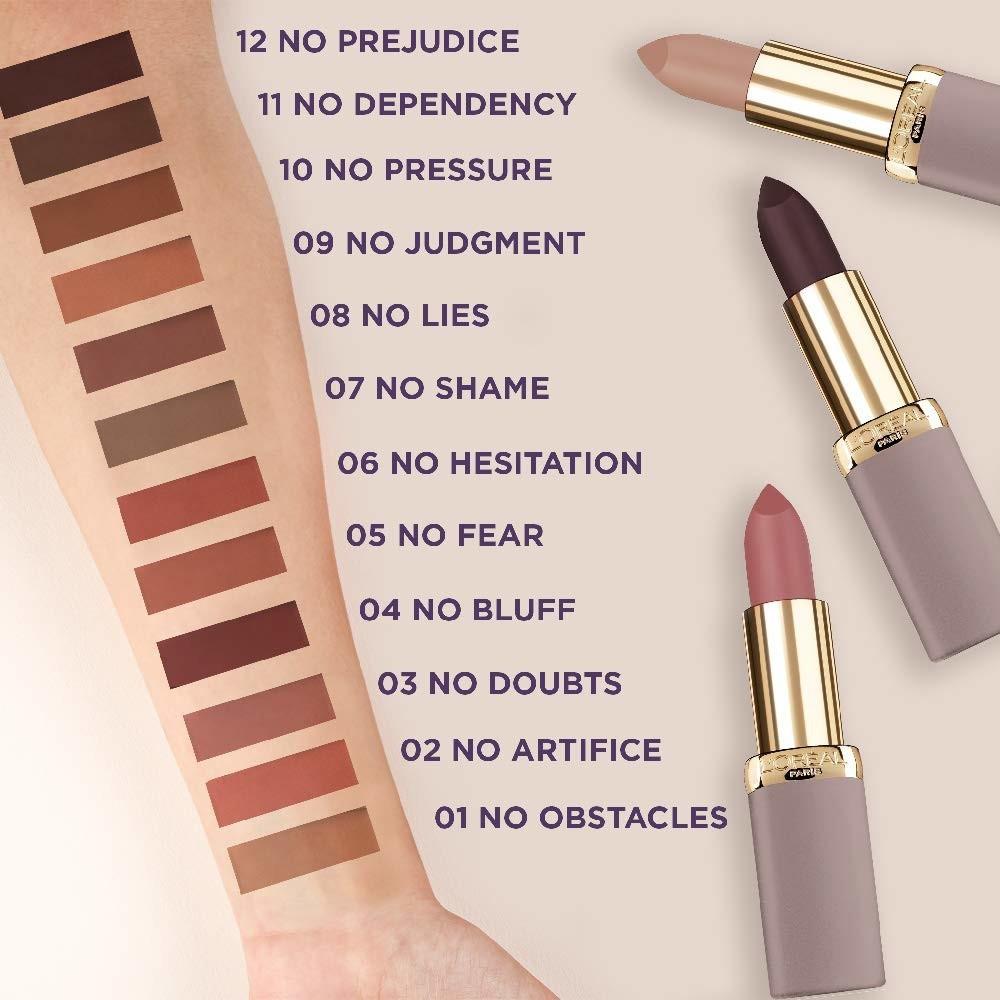 LOréal Color Riche Ultra-Matte Nude Lipstick 06 No